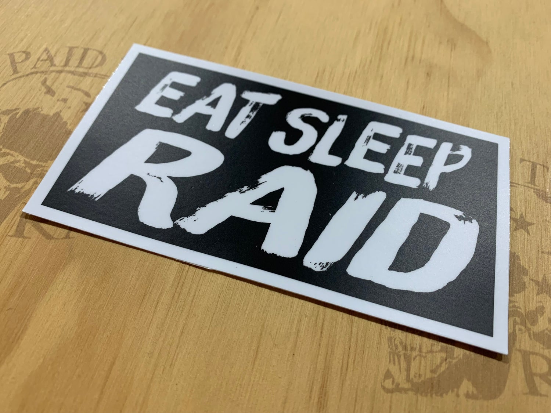 Image of Eat Sleep Raid Decal