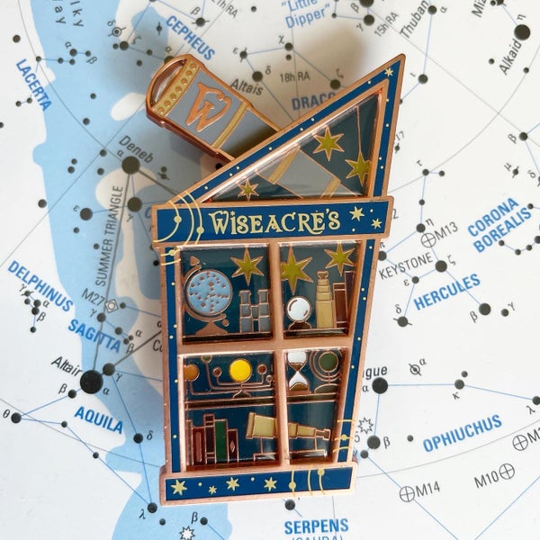 Image of Astronomy Shop Window Pin