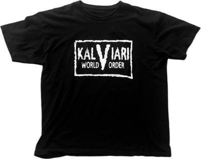 Image of KALVIARI WORLD ORDER K.W.O TSHIRT