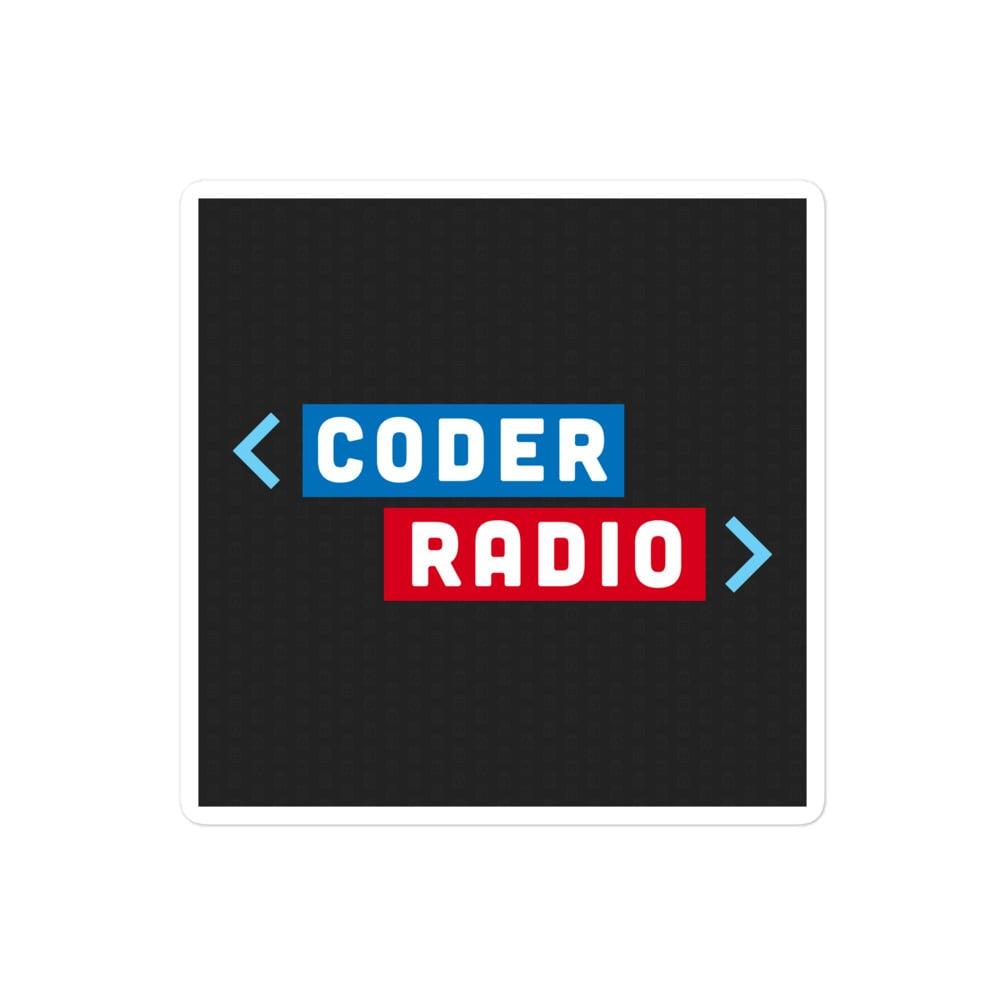 Coder Radio Sticker