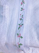Image 1 of Hand Painted Holly Ribbon Dress