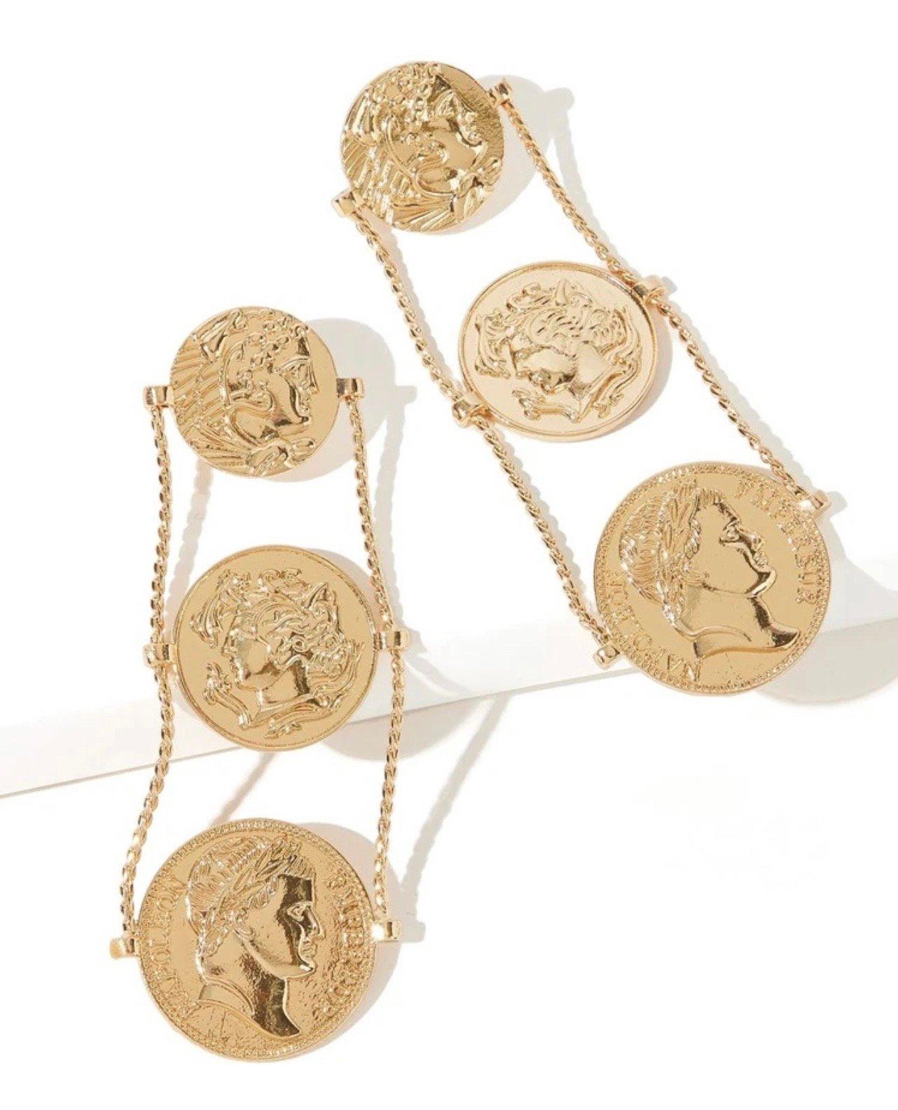 Image of Monedita De Oro Earrings