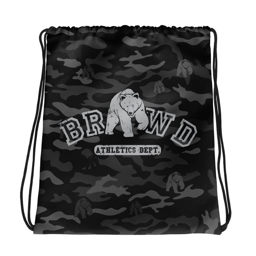 Image of BW Black Camo Drawstring bag