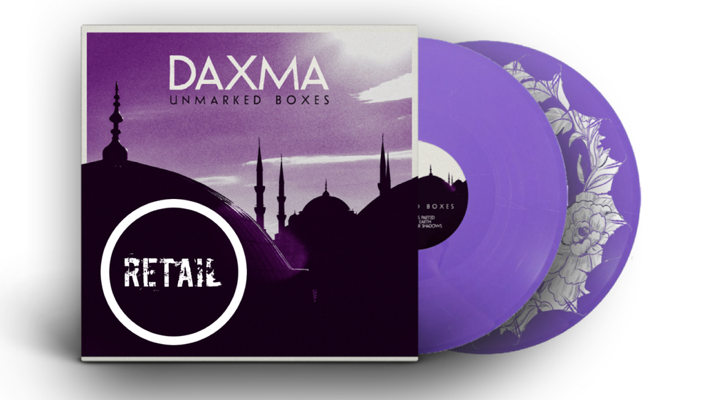 DAXMA - Unmarked Boxes (2xLP with screen printed D-side)