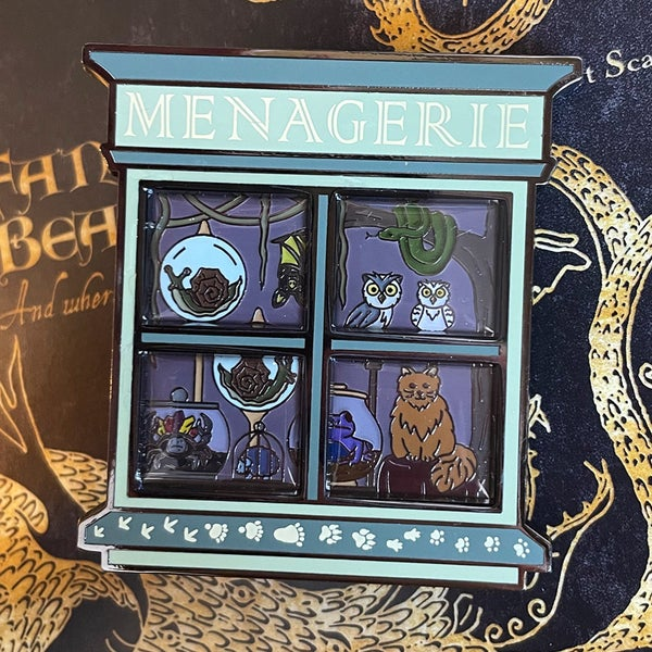 Image of Menagerie Window Pin