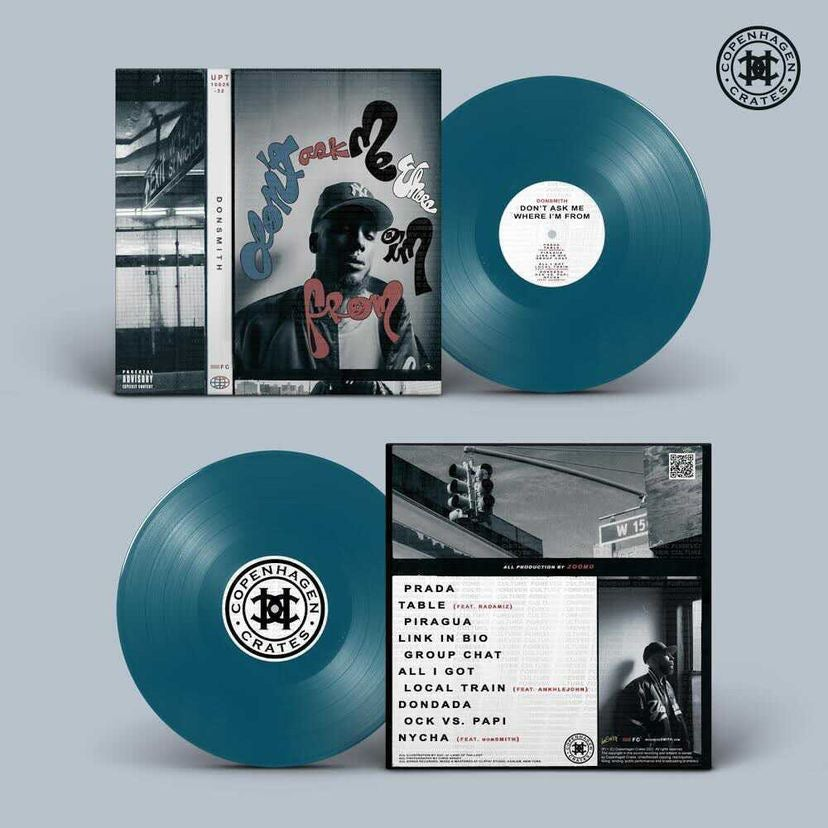 """SEA BLUE 12"""" Vinyl - """"Don't Ask Me Where I'm From"""""""