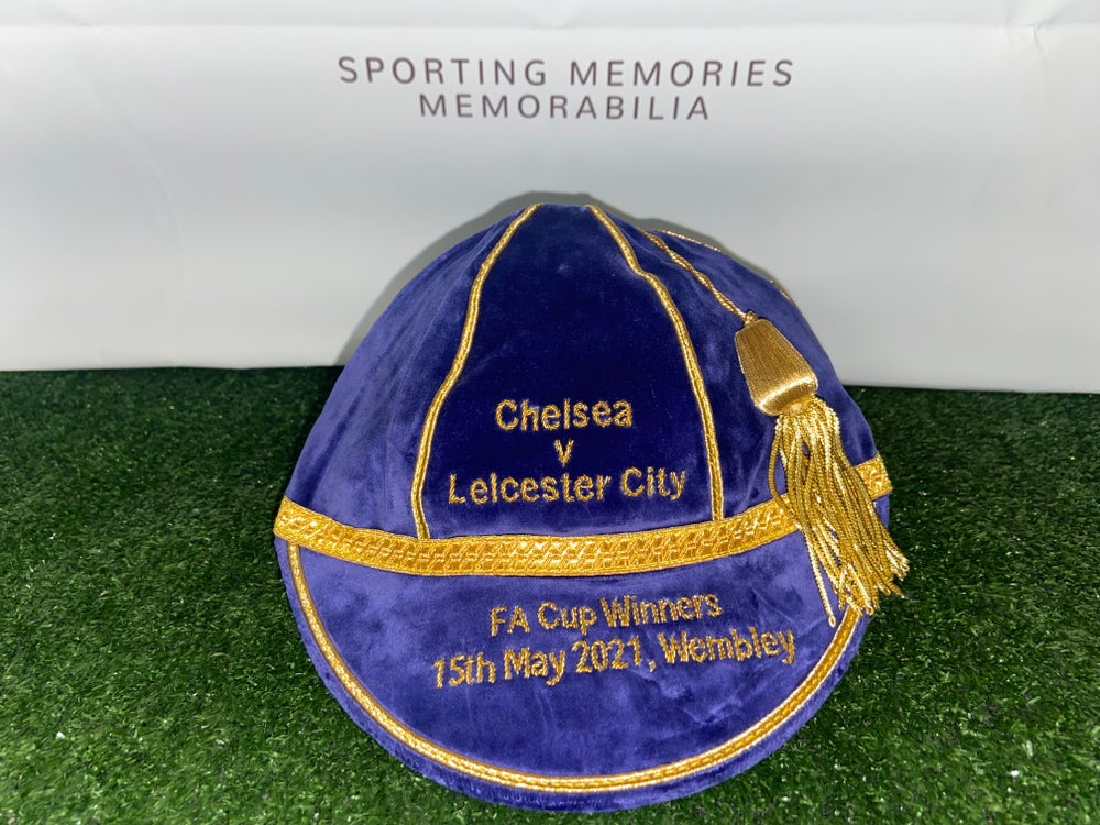 Image of Leicester City 2020 FA Cup Winners Commemorative Cap