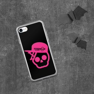 Image of Pretty Pink Skull iPhone Case