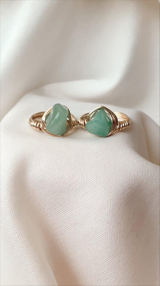 Image of Adventurine Ring
