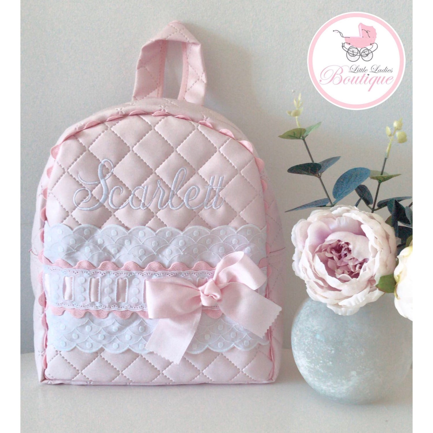 Image of Handmade personalized back packs