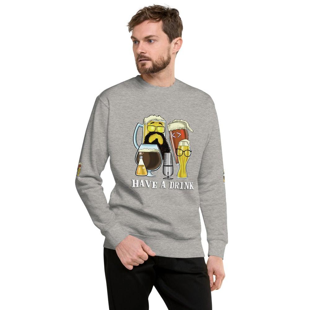 Image of Unisex Fleece Pullover