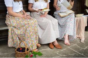 Image of Women's Maxi Skirt - Liberty - Poppy and Daisy