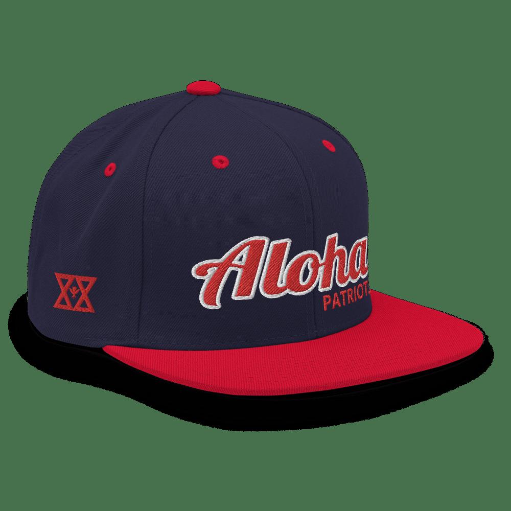 """Aloha """"Patriots"""" Snapback"""