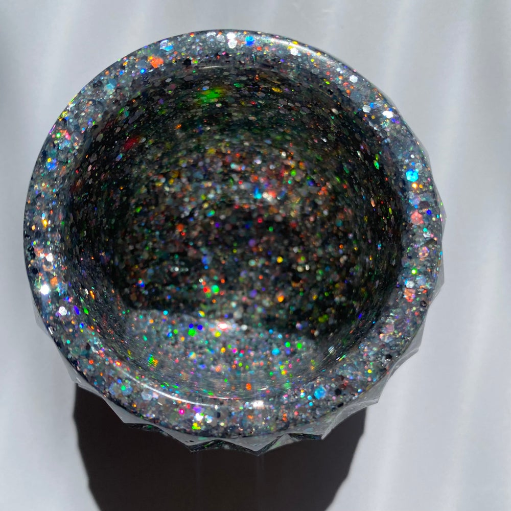 Holographic Silver Bowl