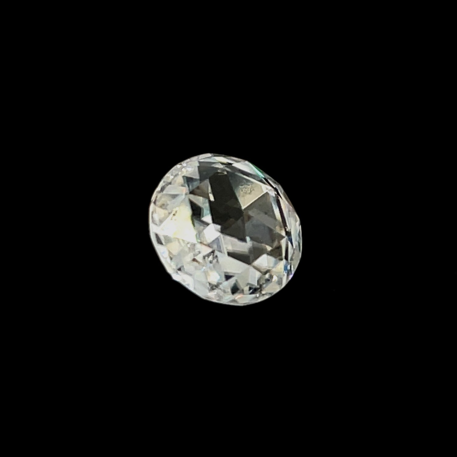 Image of Moissanite Double Rose Cut