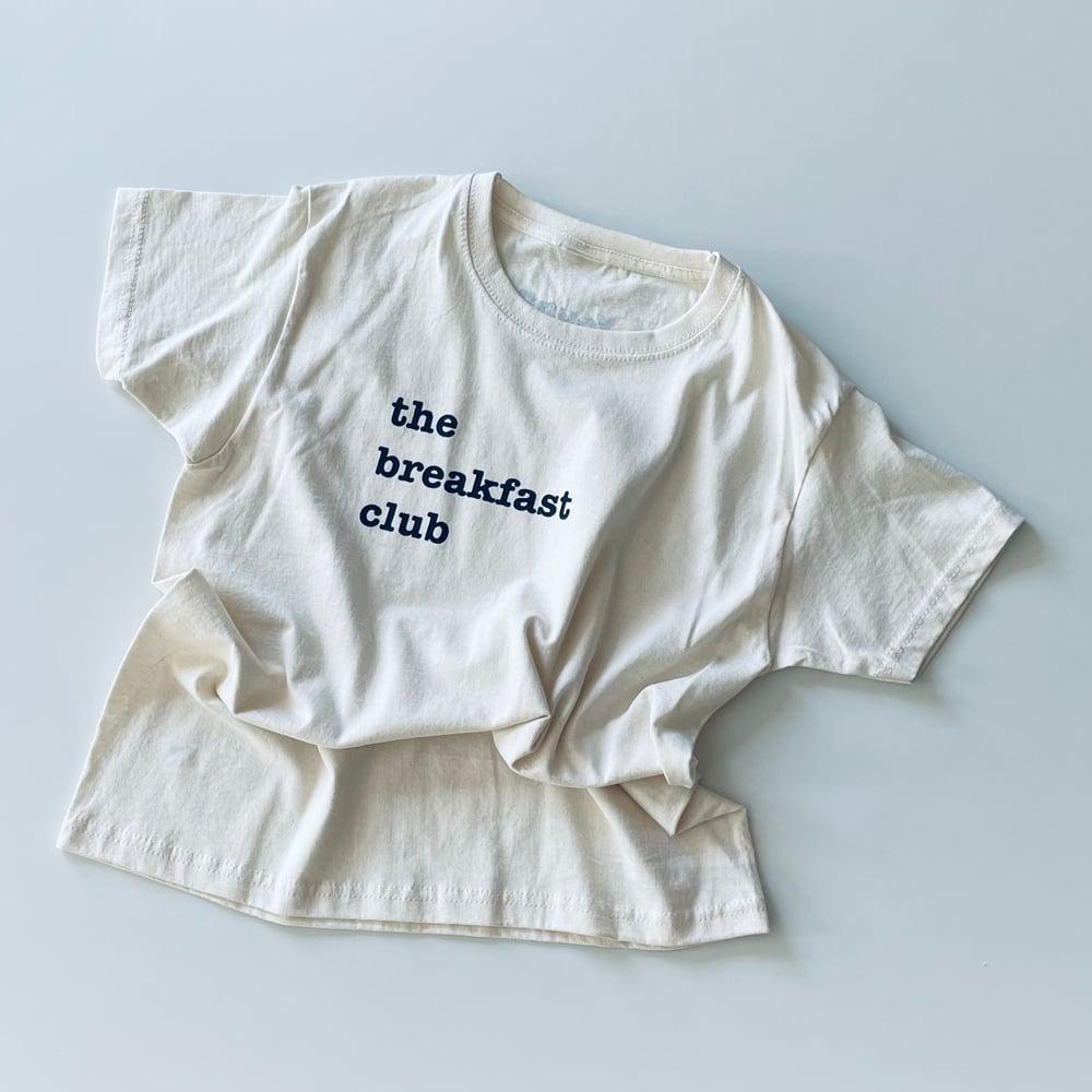 Breakfast T-shirt Raw Cotton