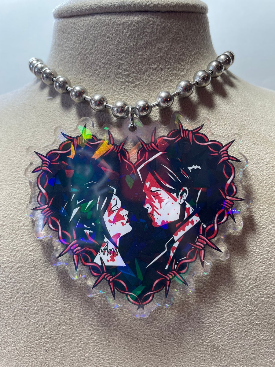 Image of Demolition Lovers Ball Chain Necklace