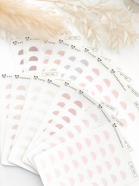 Image of Transparent Arch Stickers