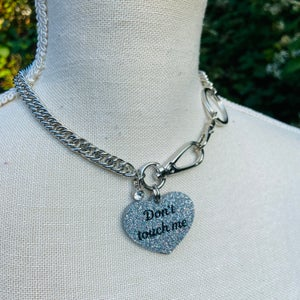 Dont Touch Me Necklace * pre order *