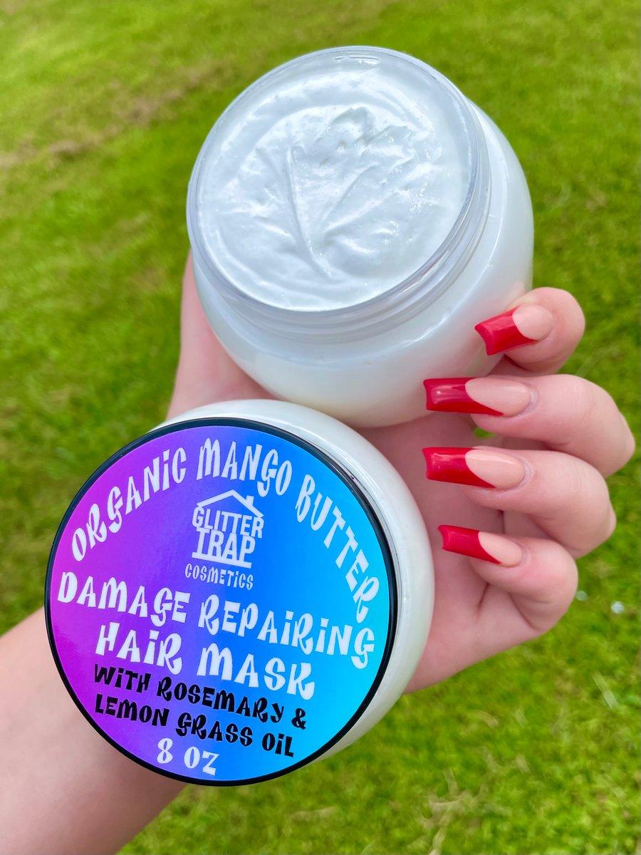 Image of Organic Mango Butter Damage Repairing Hair Mask