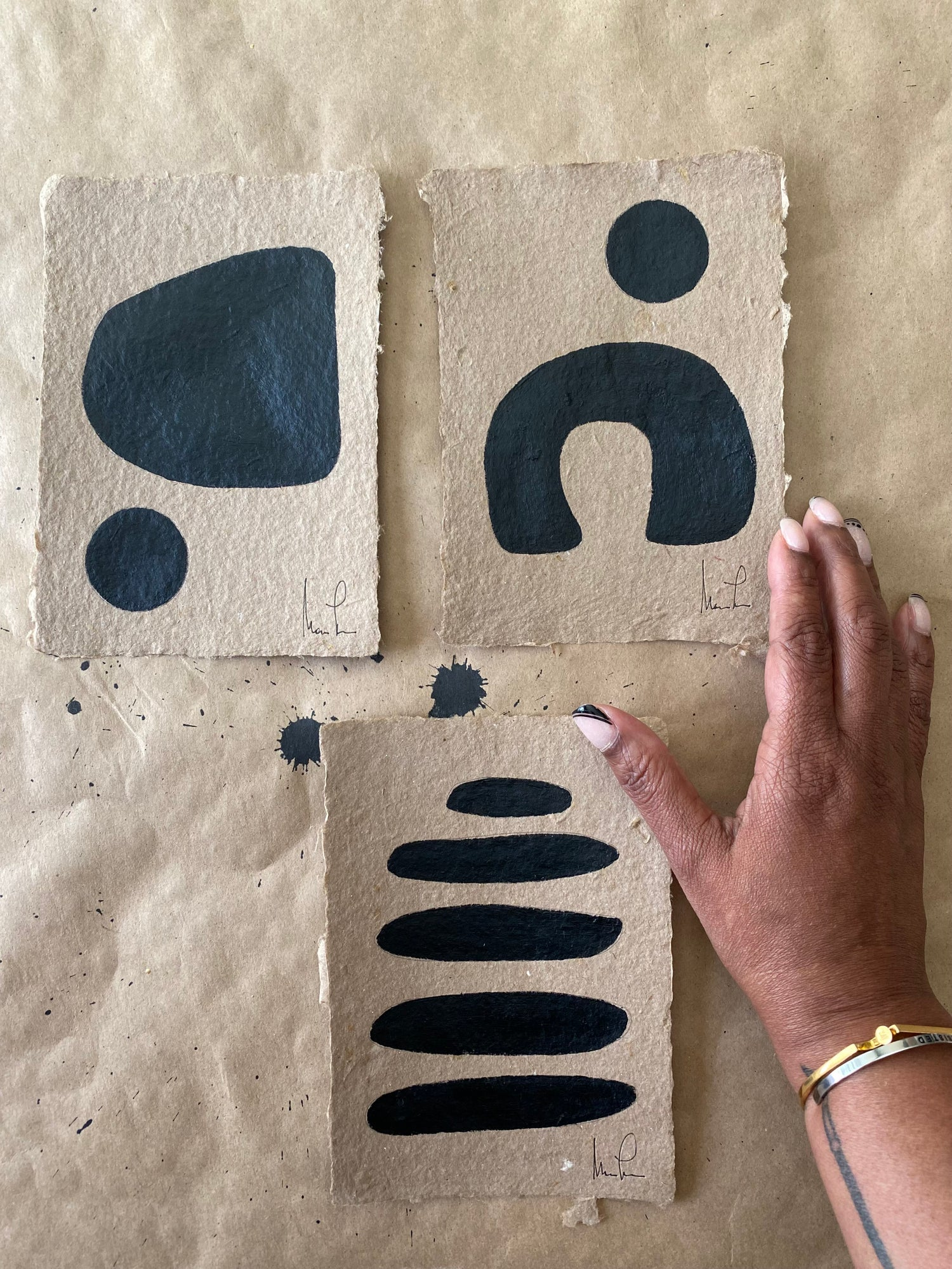 Image of ML • Brown Handmade Paper Collection
