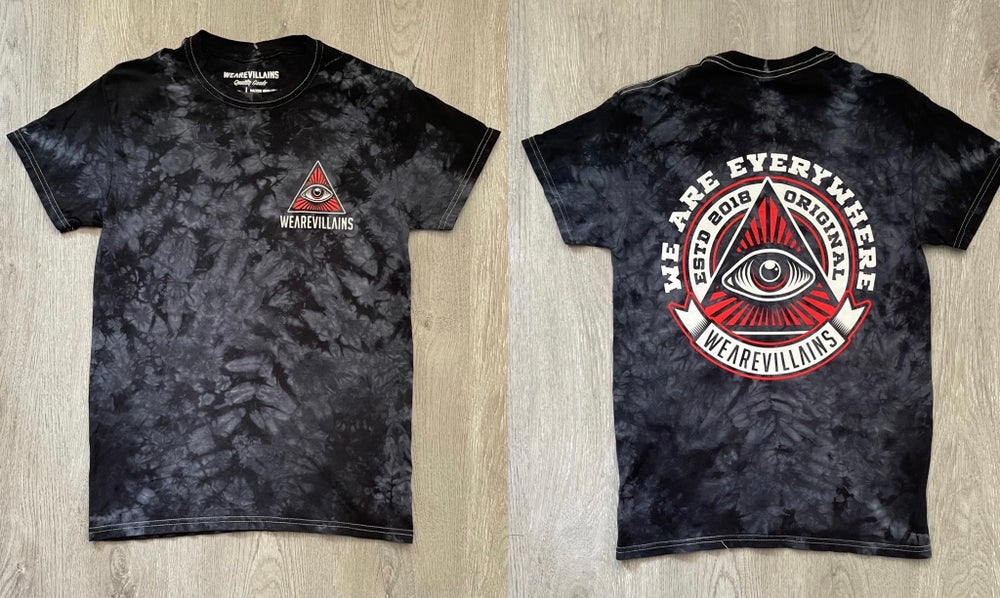 WE ARE EVERYWHERE limited tie dye