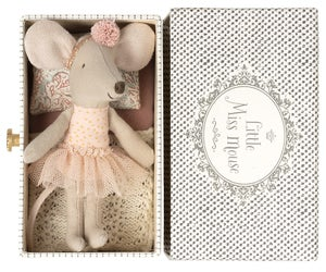 Image of Maileg - Dance Mouse In Daybed Little Sister (Pre-order)