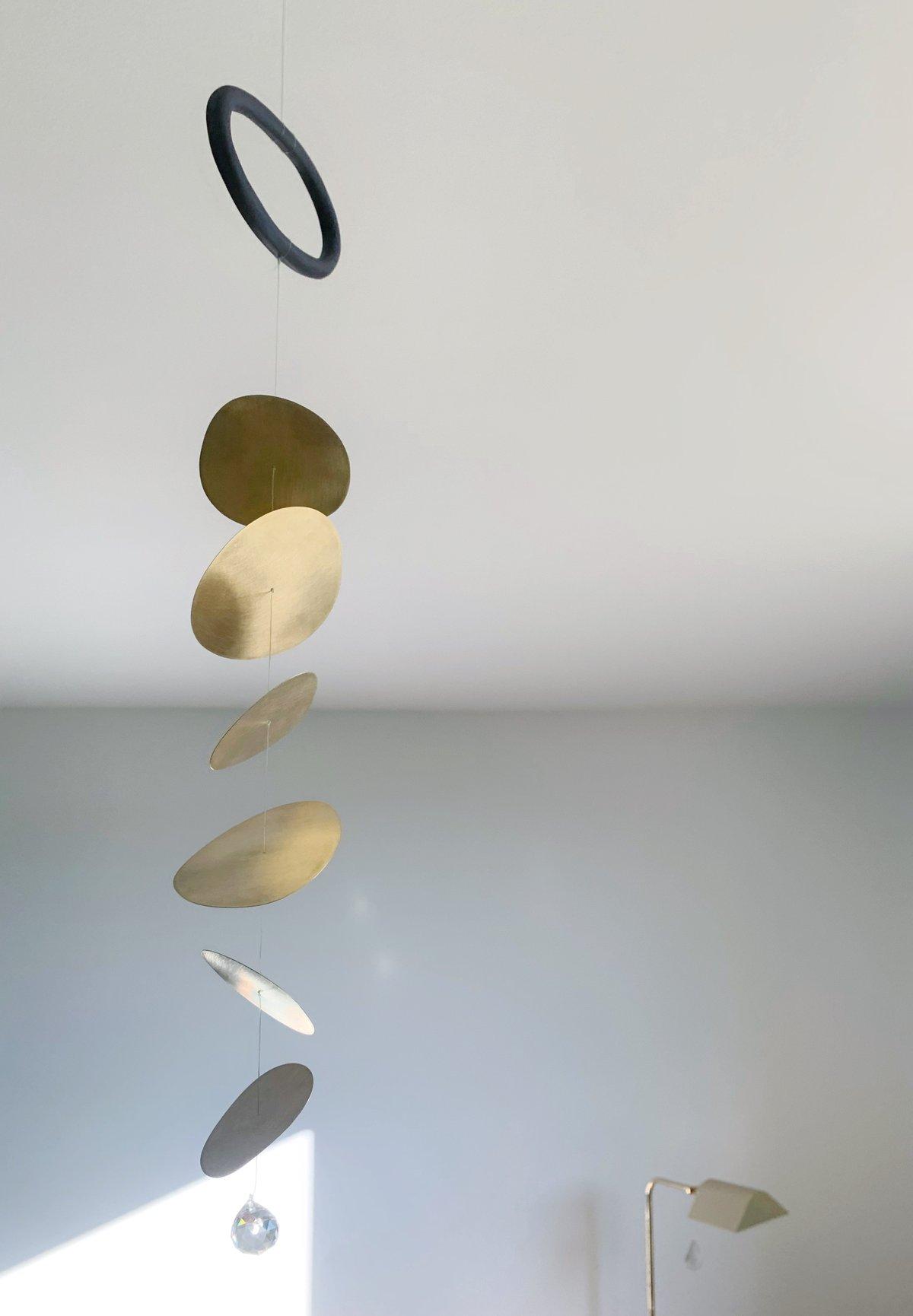 Image of Golden Moons Suncatcher