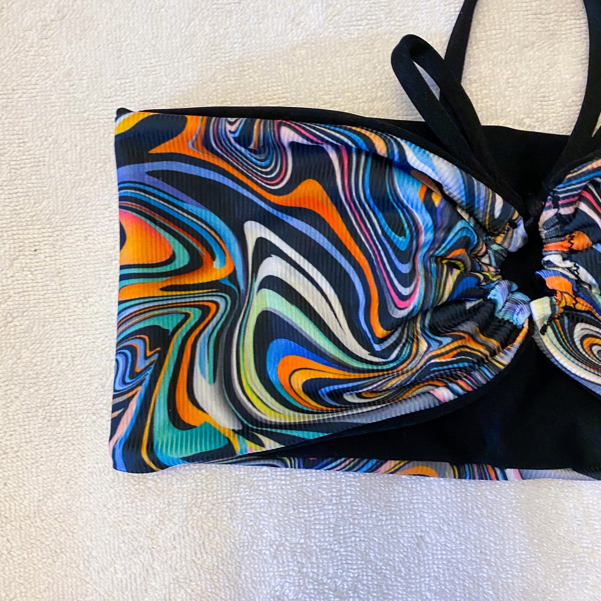 Image of SOLSTICE TOP : TRIPPY TOWN X BLACK