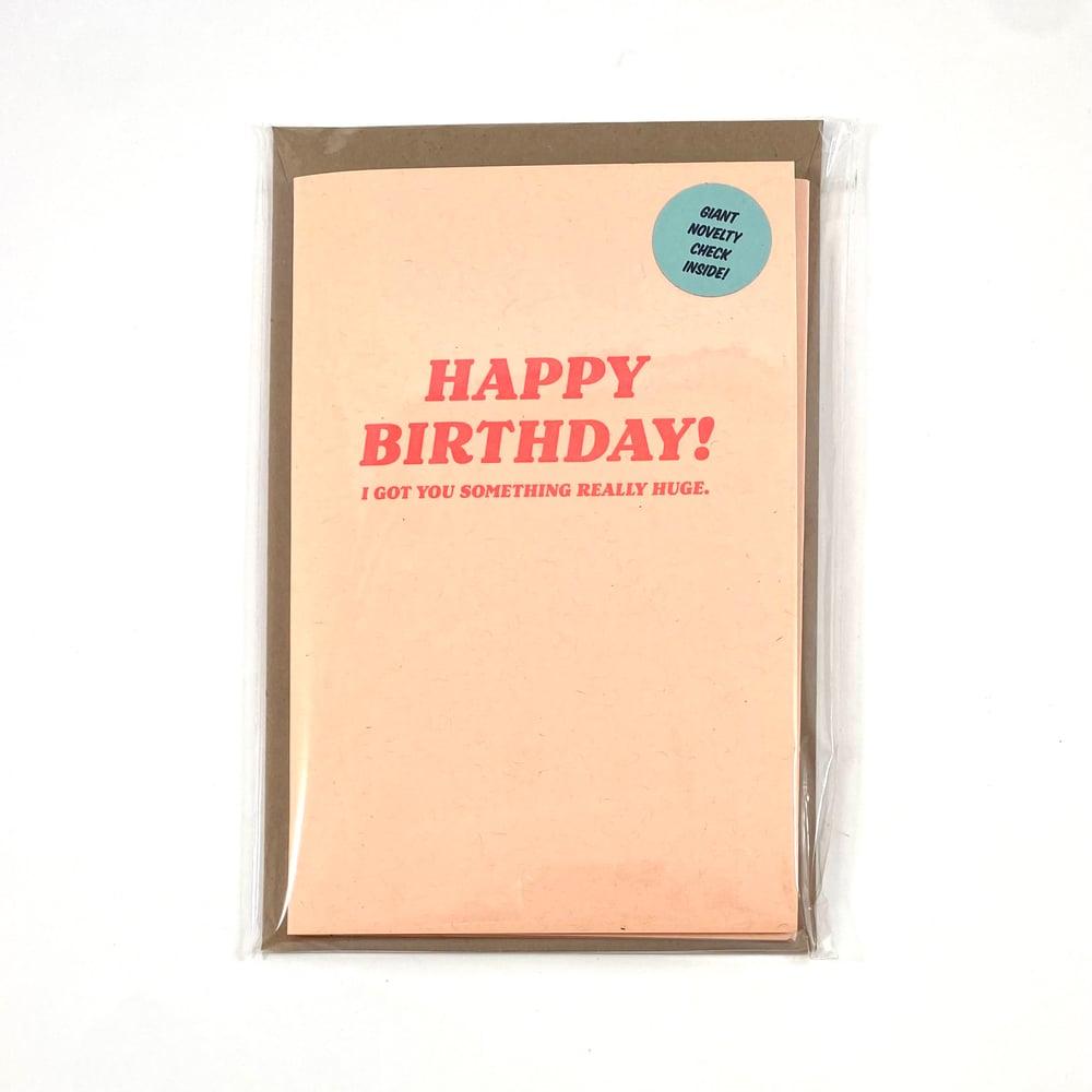 Image of Really Huge Birthday Card
