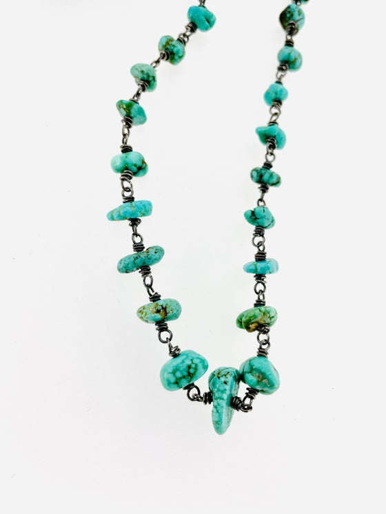 Image of Fox Mine Turquoise Necklace