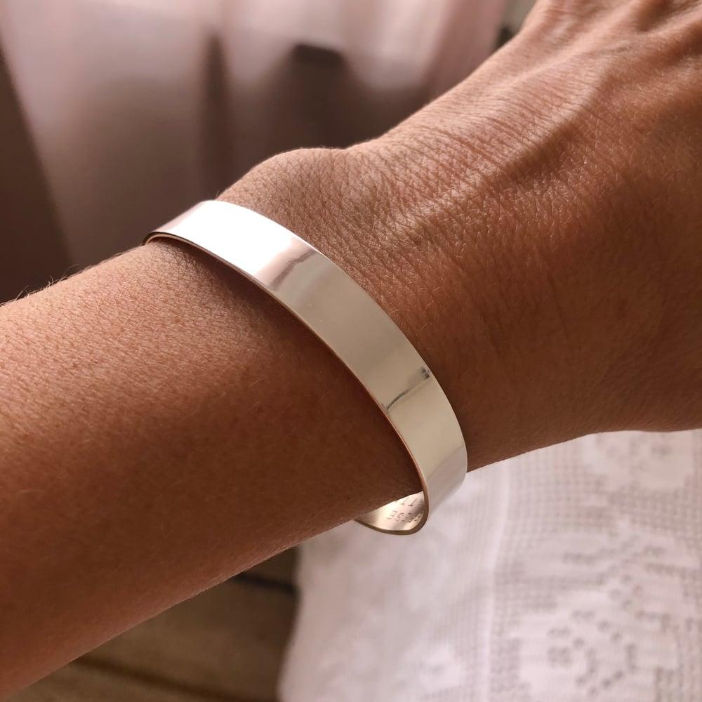 Image of Silver cuff 1 cm