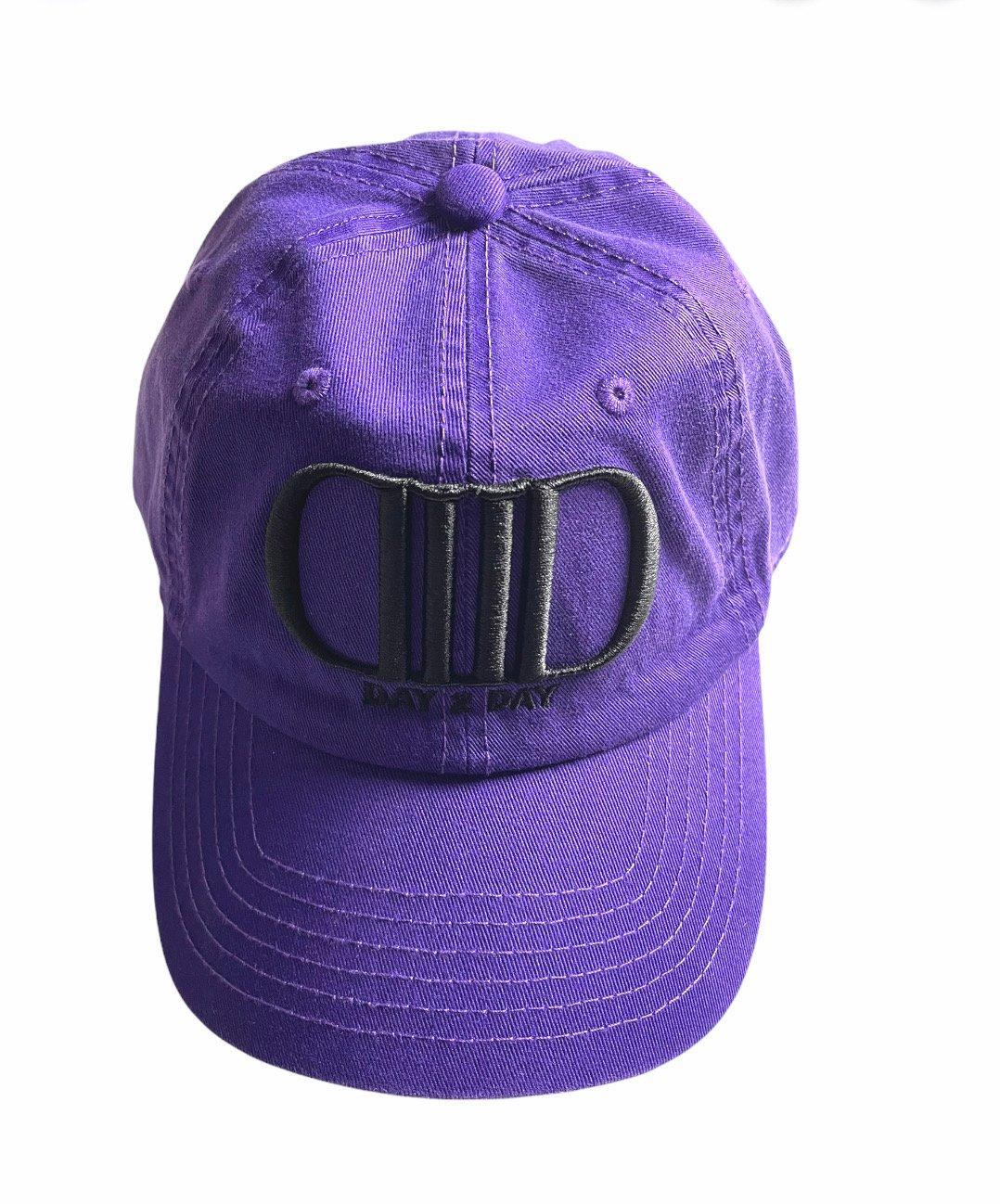 Purple/Black Dad Hat