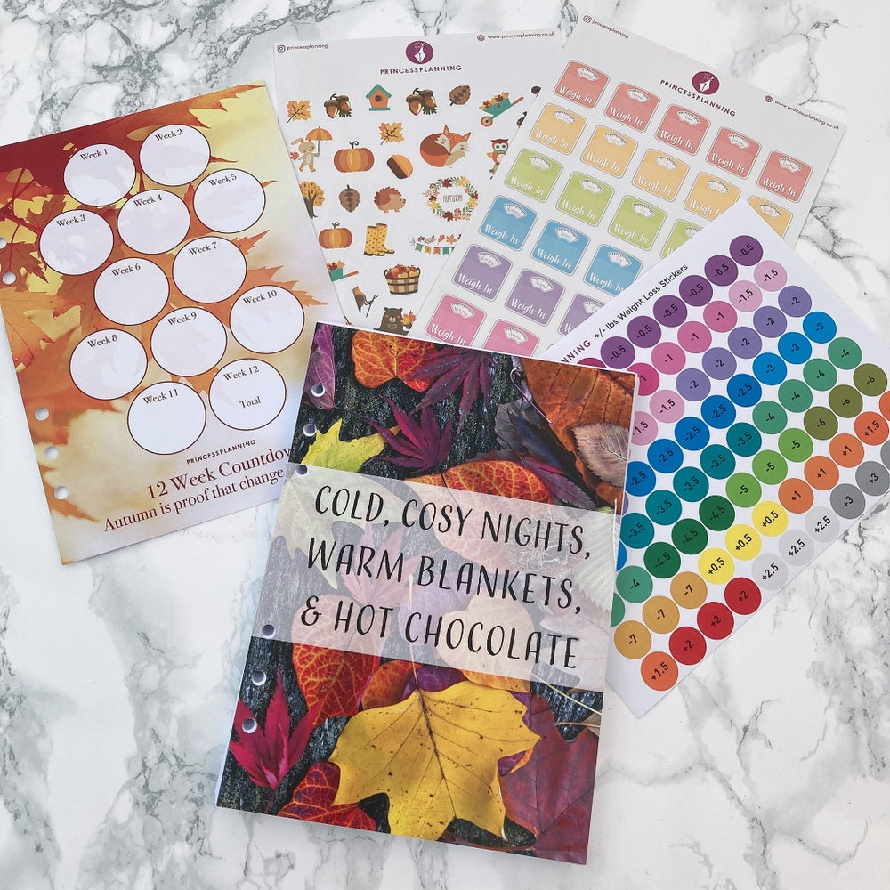 Image of GRANDE PLANNER- AUTUMN 12 WEEK FOOD DIARY BUNDLE COLD COSY NIGHTS