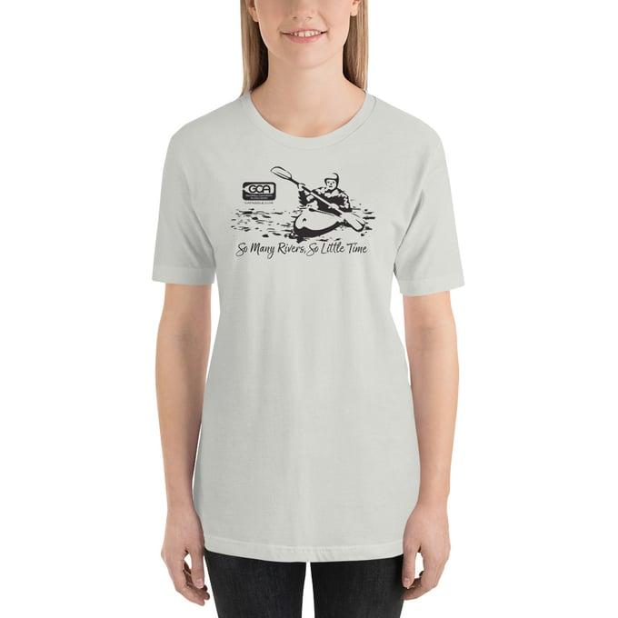 Image of T-Shirt, Kayaker, Light Colors