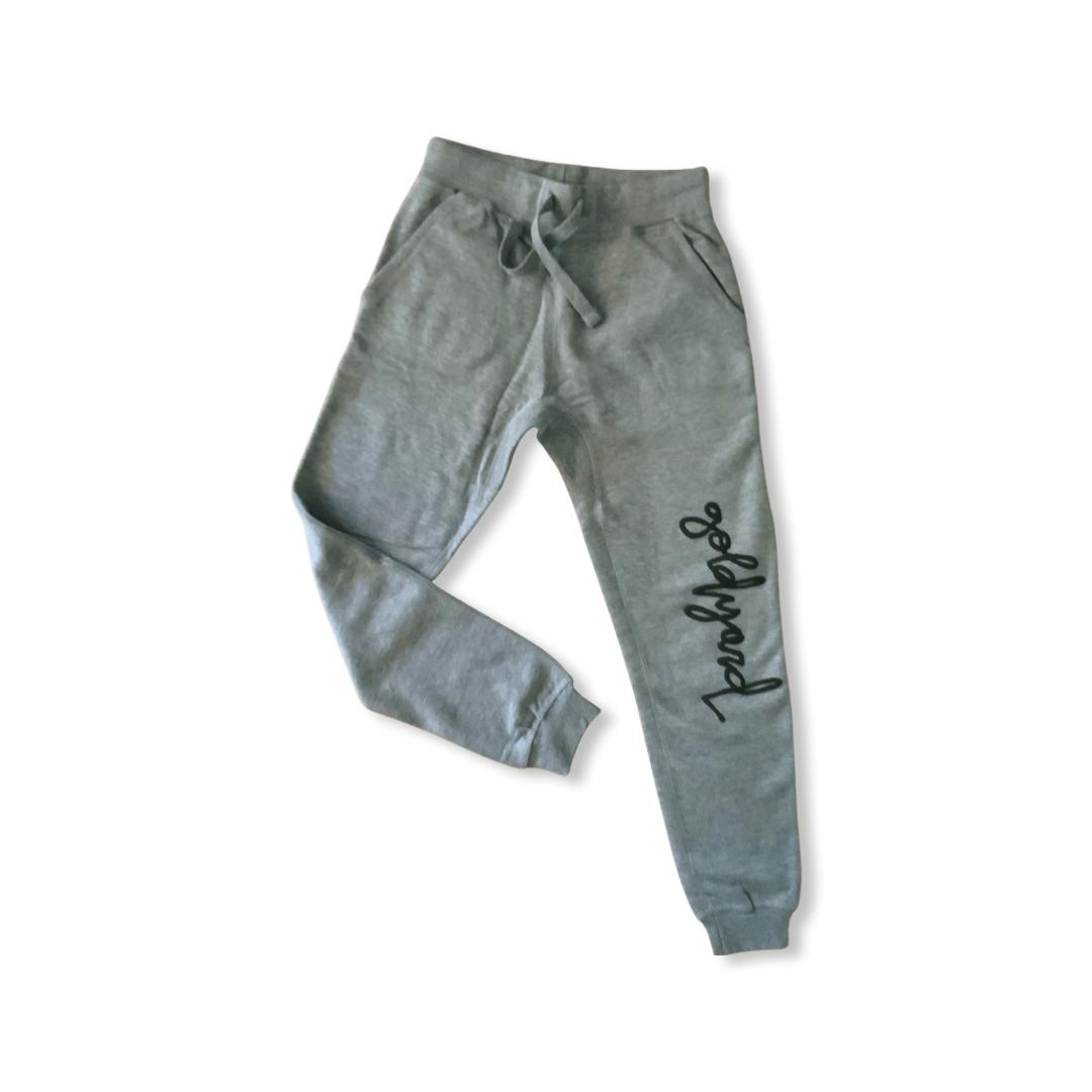 Image of Limited Edition Goldyard Logo Sweatpants (Gray)