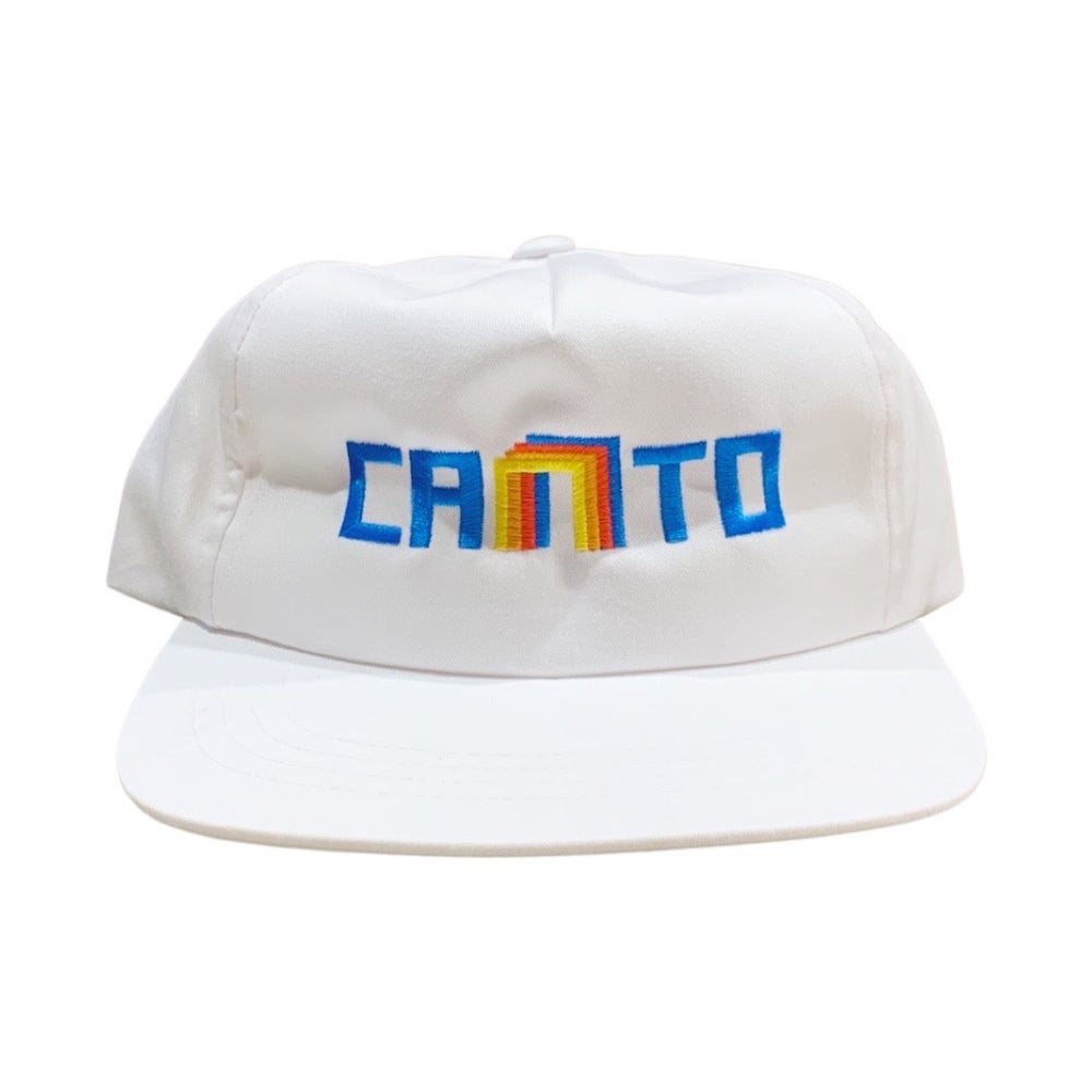 Image of Arch Snapback - White