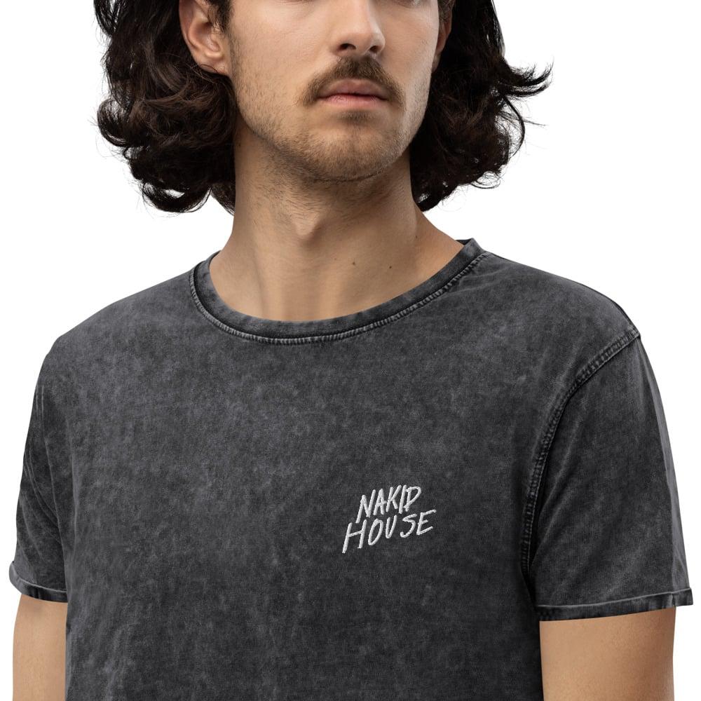 NAKID HOUSE 2021 - Denim T-Shirt