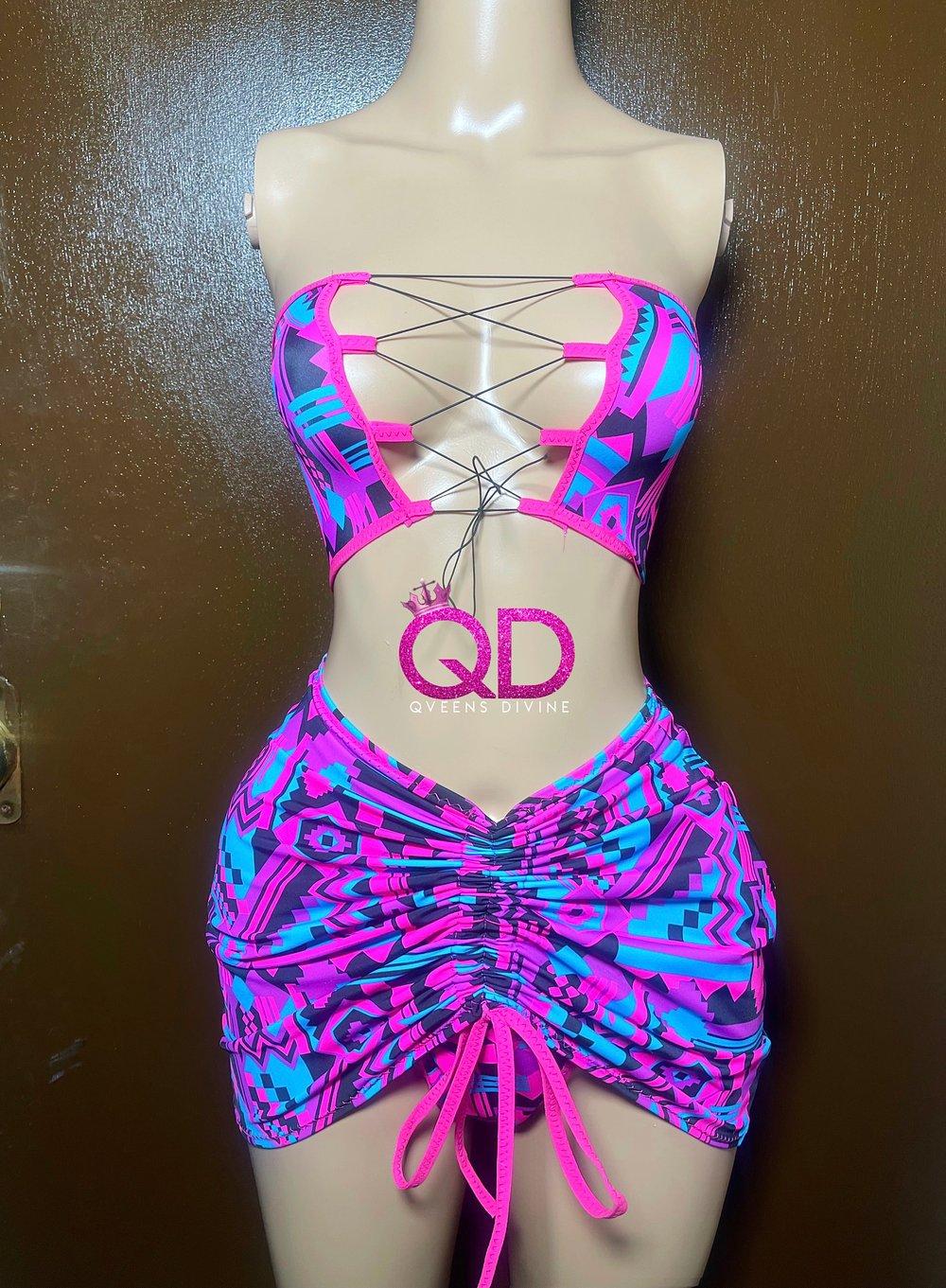 Image of Be Mine 3 Piece Skirt Set