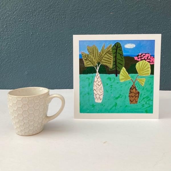 Image of Three Trees card