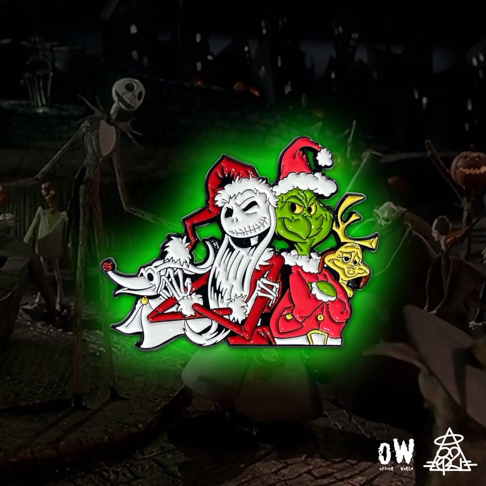 Image of Bad Santas pin