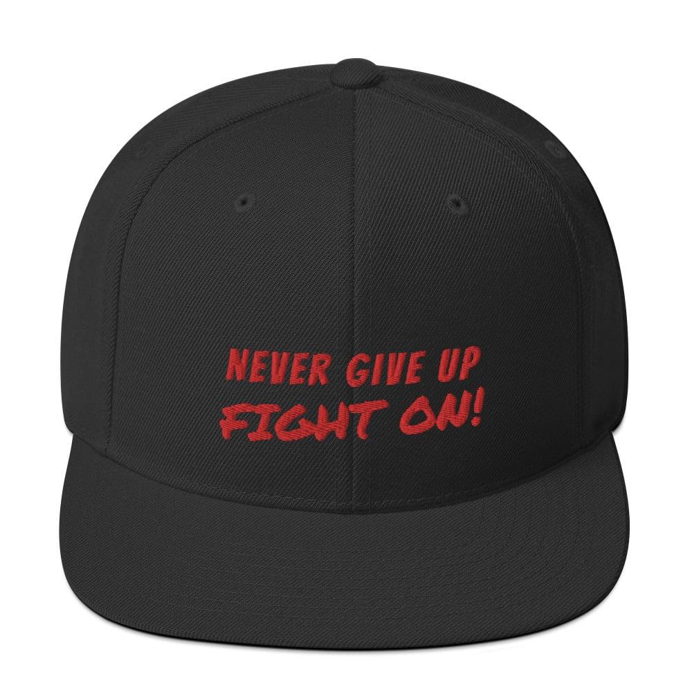 Hiroshiartandmore fighting spirit hat