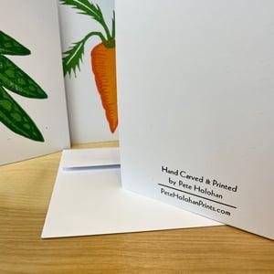 Image of GARDEN VEGGIES Greeting Card Set