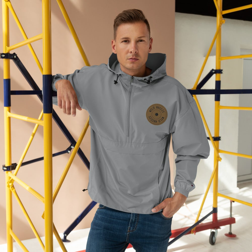 Plate Embroidered Champion Packable Jacket