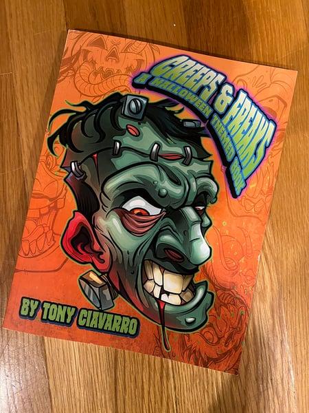 Image of Creeps And Freaks Halloween Book