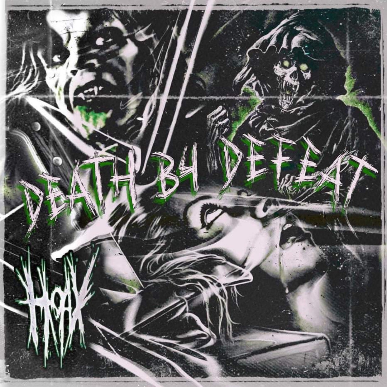 Image of HOAX - DEATH B4 DEFEAT (CD)