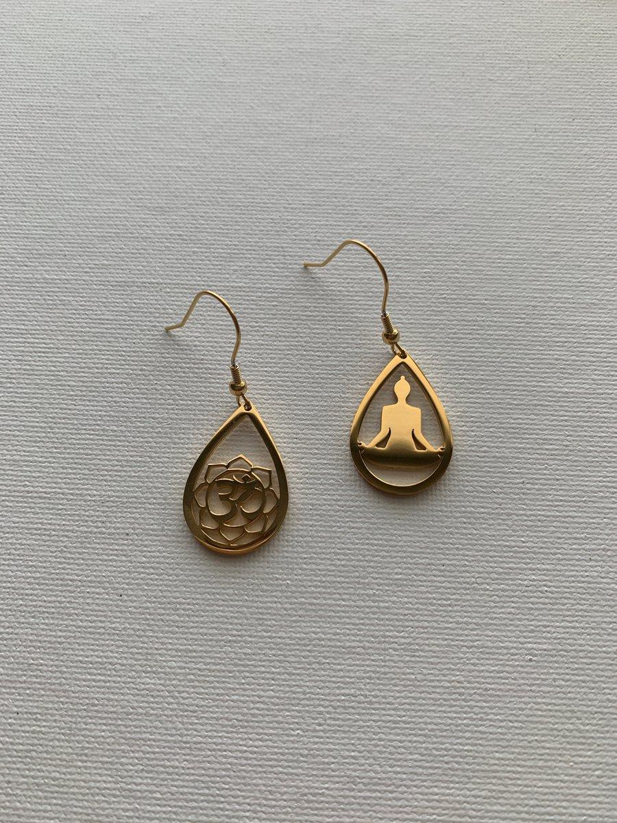 Image of OMI Earrings • Buddha earrings