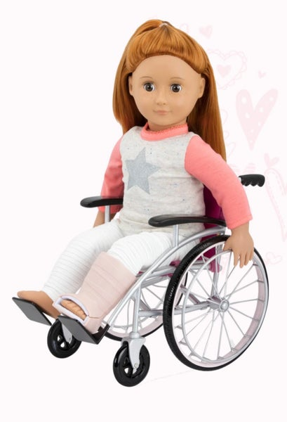 Image of Our Generation - Wheelchair Set For 46cm Dolls