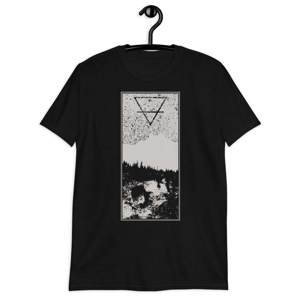 Image of Mother Gaia t-shirt/ Earth/ / Unisex t-shirt/ Occult design/ / Wiccan t-shirt/ Forest tattoo/