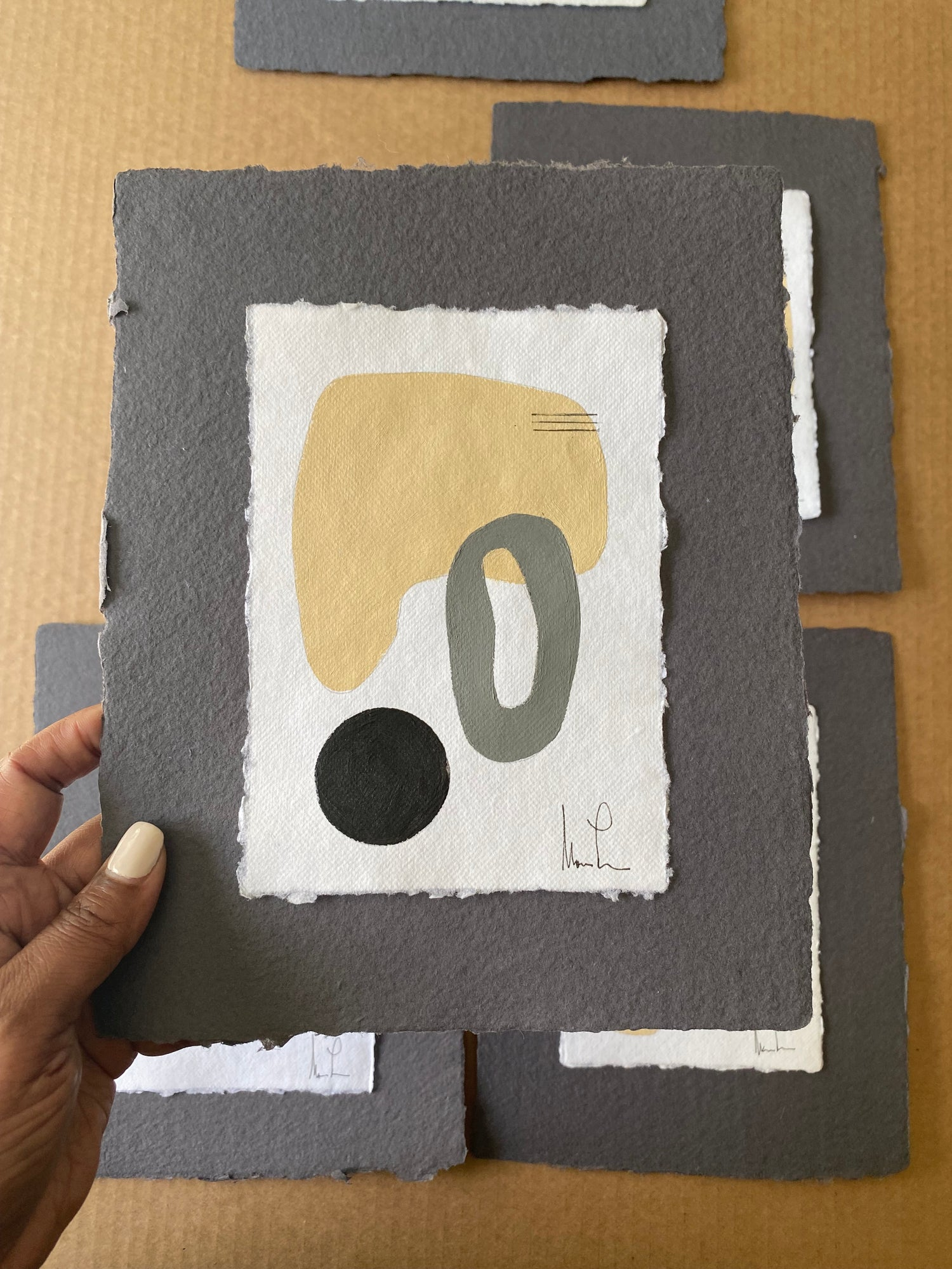 Image of ML • Handmade Paper Charcoal Collection 4